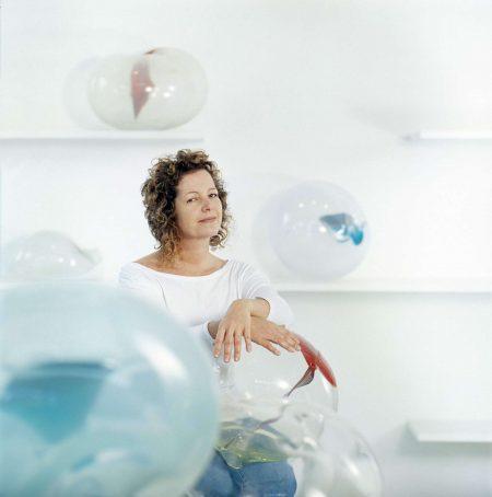 Retrato Jacqueline Terpins por Andrés Otero